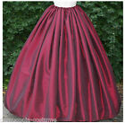 "LADIES VICTORIAN/CIVIL WAR SKIRT COSTUME  (177"" HEM) S1"