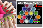 15ml Colorful Velvet Flocking Powder For Velvet Manicure Nail Art Polish Tips