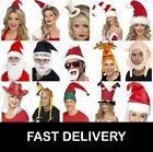 Christmas Hats Santa Xmas Father Christmas Hat Humbug Gobbler Chimney Turkey