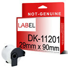 29 x 90mm DK11201 With Frame Compatible QL Series DK-11201 Printer Labels