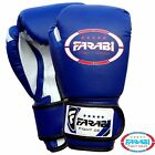 4oz Kids Boxing Gloves Junior Mitts mma Synthetic Leather Sparring Gloves Blue