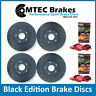 Hyundai Coupe DRILLEDGROOVED BlackEdition BRAKE DISCS FrontRear 02 Redstuff Pads