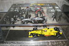 1:18 PIT LANE FORMULA 1 - MINICHAMPS - MODEL CAR - GLASS DISPLAY CASE ONLY