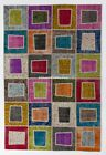 PATCHWORK RUG  handmade from OVERDYED Old Turkish carpets, Custom Sizes & Colors