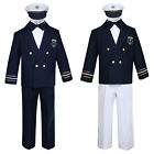 Внешний вид - Baby Boy & Toddler Formal Captain Sailor Costume Suit Outfits 6 Months to 7Years