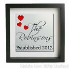 Personalised Metal Wall Art Picture Plaque Sign Family Established Present Gift