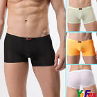 New Men Sexy Man Boxer Briefs Boy Mens Underwear Lingerie Trunks in 4color 3size