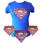 Supermum fitted tshirt birthday gift mothers day present super mum gran nan wife