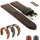 Mens Genuine Leather Watch Strap Band Catalonia 18mm 20mm 22mm 24mm - MM
