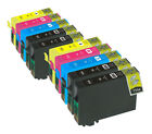 10 Compatible Ink Cartridges 16XL T1636 for Epson WF Printers (Non-OEM)
