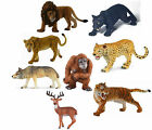 CollectA Wild Animal: Lion Panther Leopard Timber Wolf Orangutan Deer Tiger NEW