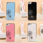 Fashion Fancy Dandelion Diamond Hard Back Case Skin For iPhone 5    5G