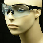 SUNGLASSES GLASSES CLEAR LENS MEN WOMEN NEW SHOOT FRAME CYCLE SAFETY ANSI Z87