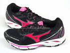 Mizuno Wave Resolute (W) Black/Pink/Silver Casual Running Shoes X10 8KN-32165