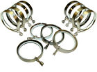 Metal Curtain Pole Rings Ideal For 16mm 19mm 25mm 28mm Diameter Poles