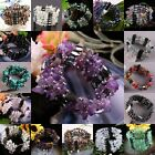 17 Types Magnetic Hematite Quartz Jasper Gemstone Chips Beads Bracelet /Necklace