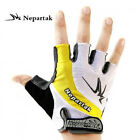 Cycling Bike Bicycle Sillcone half finger GEL gloves Size M-XL Three Colours