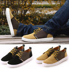 VINTAGE Man Mens Casual Frosted Sneakers Loafer Shoes New Lace Up Shoes UK 5size