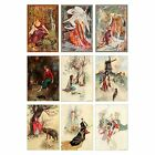 French Fairy Tale Magnet Vtg Illlustration Choose Fave Fairy Tale Picture