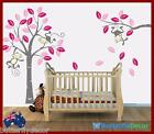 Cute Monkeys and Tree Wall Art Stickers Kids Nursery Vinyl Decals