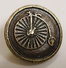 SDL Steampunk rustic Pennyfarthing metal buttons pack of 3 buttons