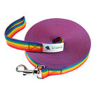 Long Dog Horse Training Tracking Lunge Lead - 5ft to 200ft Any Size. ALL Colours