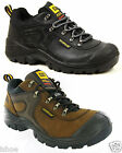 MENS CATERPILLAR CAT TORQUE LEATHER LACE WORK STEEL TOE SHOES TRAINERS SIZE 6-11