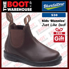 Blundstone 530 'CHILDREN'S  BLUNNIES', Elastic Sided Non Safety. Just Like Dad!.