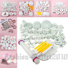 Various Cake Fondant Decorating Cutters Tool Sugarcraft Flower Moulds Smoother