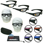 Motorcycle Transition Biker Riding Sunglasses Day Night Foam Padded Mens Glasses