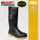 Oliver Work Boots, 10100 Hytest Gumboots.  Steel Toe Cap Safety.  Brand New!