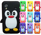 Compatible for Samsung Galaxy Ace S5830 silicone case cover penguin series .