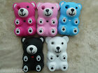 Compatible Blackberry Curve 8520 8530 9300 silicone case cover 3D Teddy Bear .