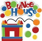 Bounce House SET of Scrapbook Embellishment Paper Piecing Cards