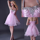 Short Homecoming Graduation Prom Party Dress Bridesmaid Wedding Gowns Cocktail