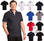 Mens Polo Size S M L XL 2XL 3XL 4XL 5XL Contrast Work Golf Shirt Top