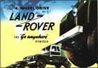 Vintage Land rover Advertisement  Poster A3/A2 Print