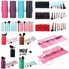 8/12/13/22/24 PCS Makeup Brushes Set Cosmetic Brush Kit Cup Holder/Leather Case