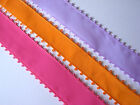 POLYESTER PICOT EDGED RIBBON 21MM WIDE AND 15MM WIDE