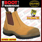 Oliver Work Boots 55222. Wheat, Elastic Sided, Steel Toe Safety. ORIGINAL STYLE!