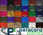 paracord red - 550 Paracord 100 50 25 10 Feet 4 mm Type III Parachute Para Medic Rope Cord