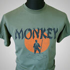Monkey Magic (Green) TV Themed Retro T Shirt Martial Arts Kung Fu Cult