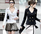 NEW Elegant Womens Spring Jacket Basic Coat #3035 Free Shipping!