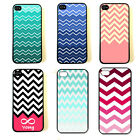 New Fashion vintage Chevron Hard Snap on Case Slim Fit Cover For iphone 4 4S 5