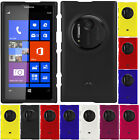 NEW RUBBERIZED HARD CASE PROTECTOR COVER SHELL FOR AT&T NOKIA LUMIA 1020 PHONE