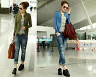 Fashion New Ladies Womens Slim Suit Coat Blazer coats Jackets top    blouse
