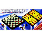 3 in 1 Games Magnetic Folding Chess Backgammon Checkers Board Travel Outdoor
