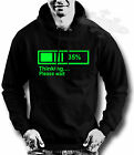 GEEK,NERD,SLOGAN,HUMOUR,LOADING HOODY,HOODIE, in all sizes THINKING