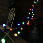 5M 50 LED INDOOR/OUTDOOR CHRISTMAS CONNECTABLE FROSTED STAR STRING FAIRY LIGHTS