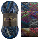 King Cole 100g Ball Ultimate Super Chunky Knitting Yarn Soft Acrylic Wool Mix